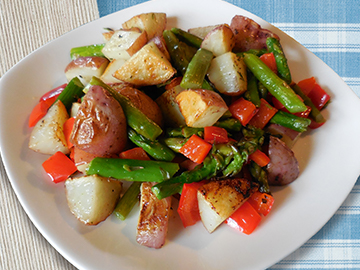 Spring Asparagus and Potato Salad
